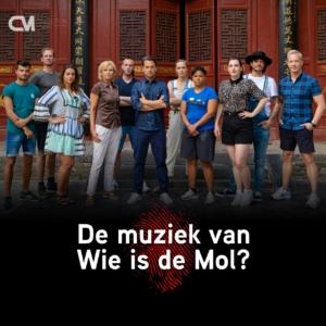 De muziek van Wie Is De Mol, alle muziek van seizoen 2020.